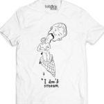 Ice cream men's white t-shirt