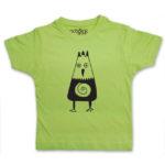 crow kids green t-shirt