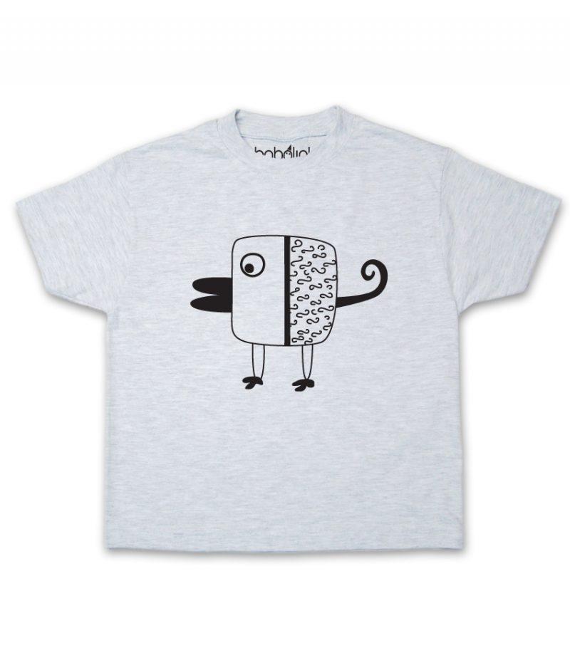 bird kid's ash t-shirt