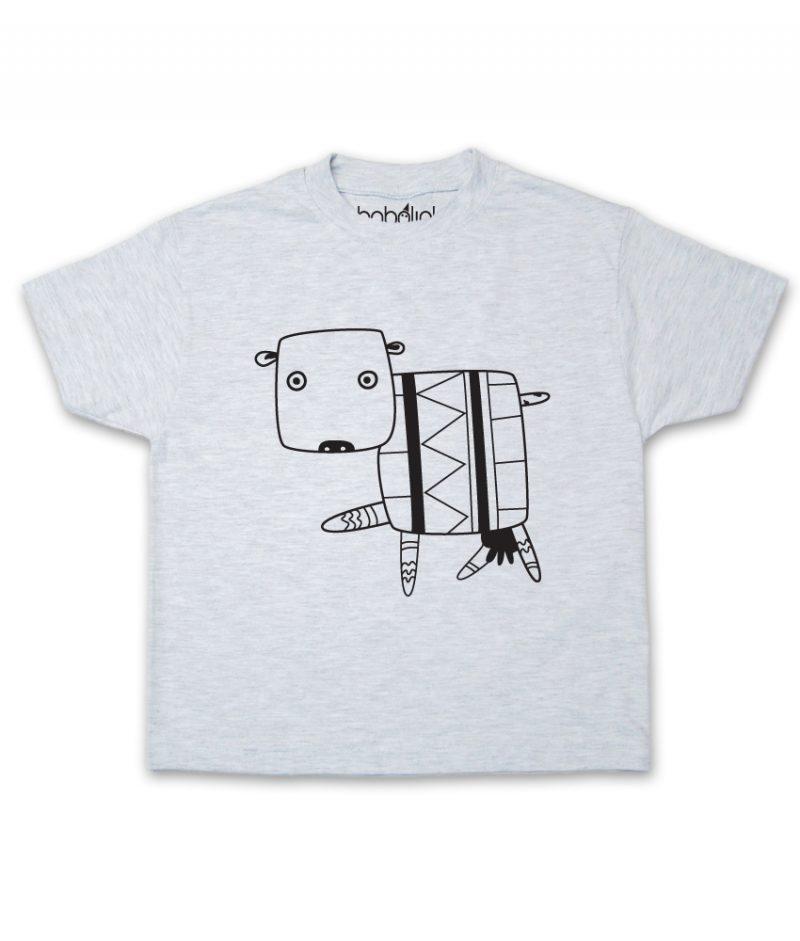 cow kid's ash t-shirt