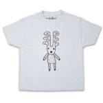 deer kids ash t-shirt