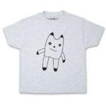 cuddly toy kid's ash t-shirt