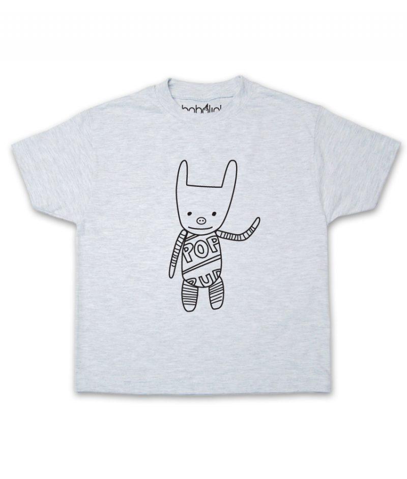 plush toy kids ash t-shirt