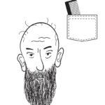 man with beard-close up